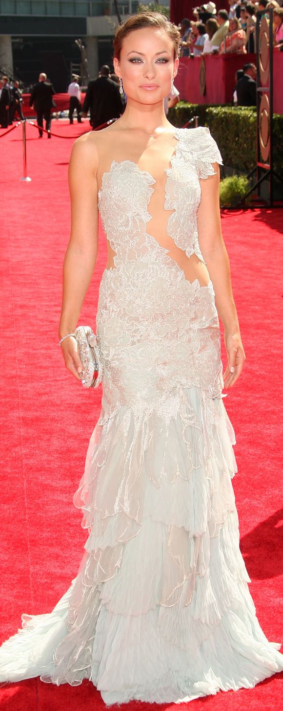 olivia wilde in marchesa, front