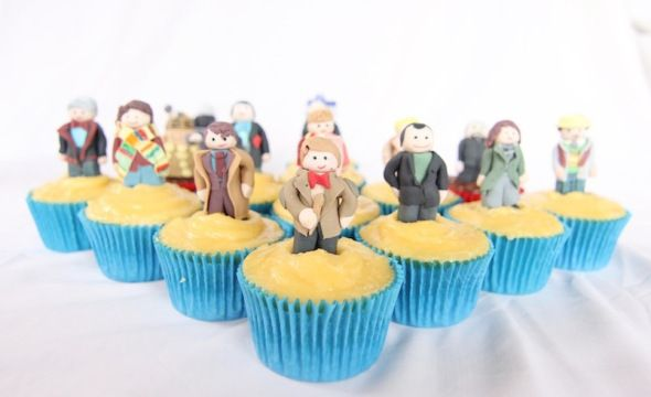 Geektastic Doctor Who Cupcakes