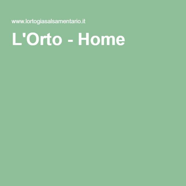 L'Orto - Home