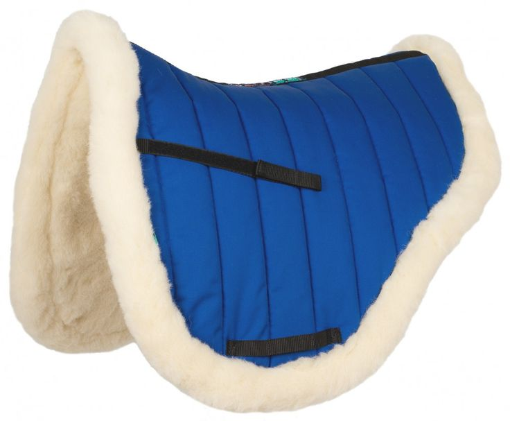 Now in Blue quilt with natural wool. HiWither Endurance Pad (SP14) - Griffin NuuMed