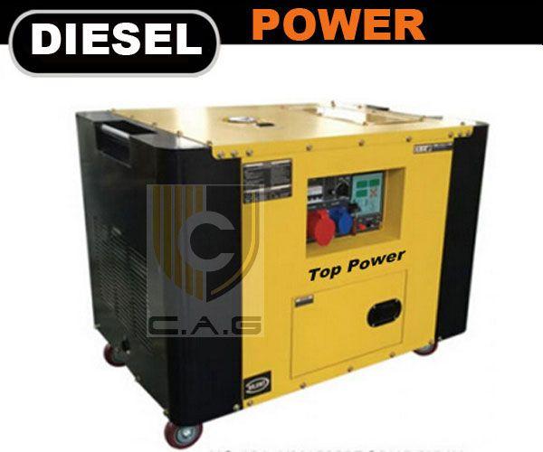 15kva Silent Diesel Generator - CAG Engines