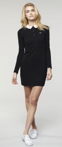 Loving this Lacoste tennis inspired polo dress.