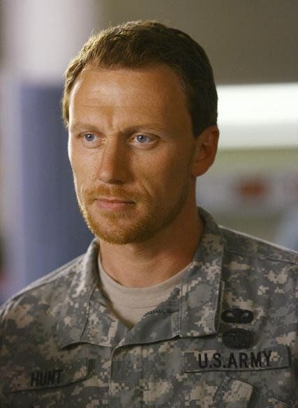 Kevin McKidd aka Dr Owen Hunt from Grey's Anatomy..probably the only attractive red head male on earth haha