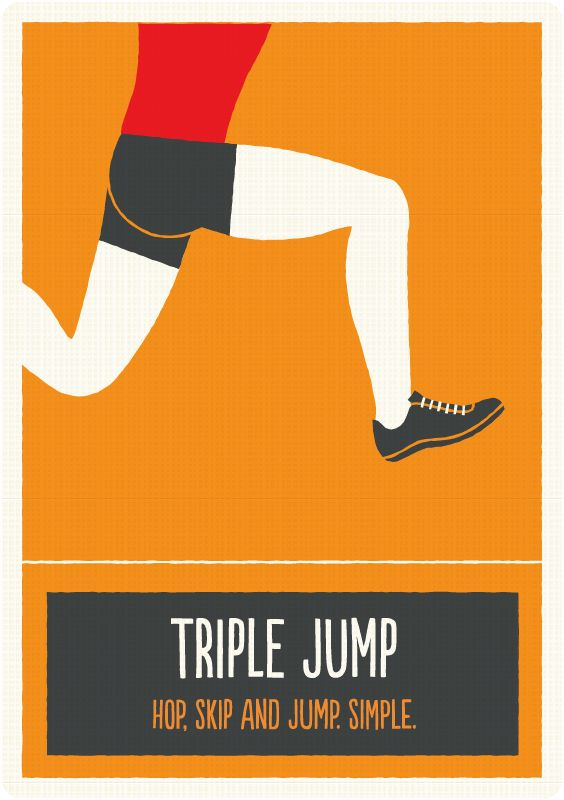 Triple Jump - Find out facts and the rules of this sport by downloading my app - http://curlyspocketguide.com/