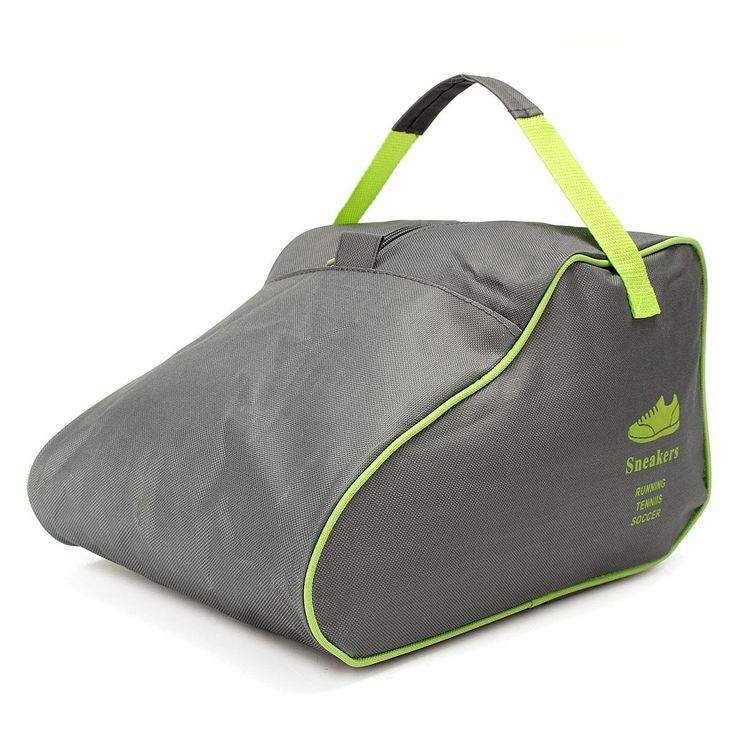 Portable Shoe Storage Bag Organizer Oxford Cloth Sport Outdoor Waterproof Travel Pouch Case Solid Color Durable Space Save