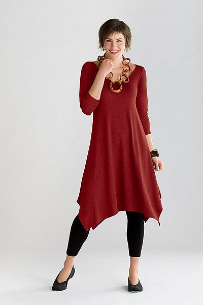 Travel Knit Simple Dress: F.H. Clothing Company: Knit Dress | Artful Home