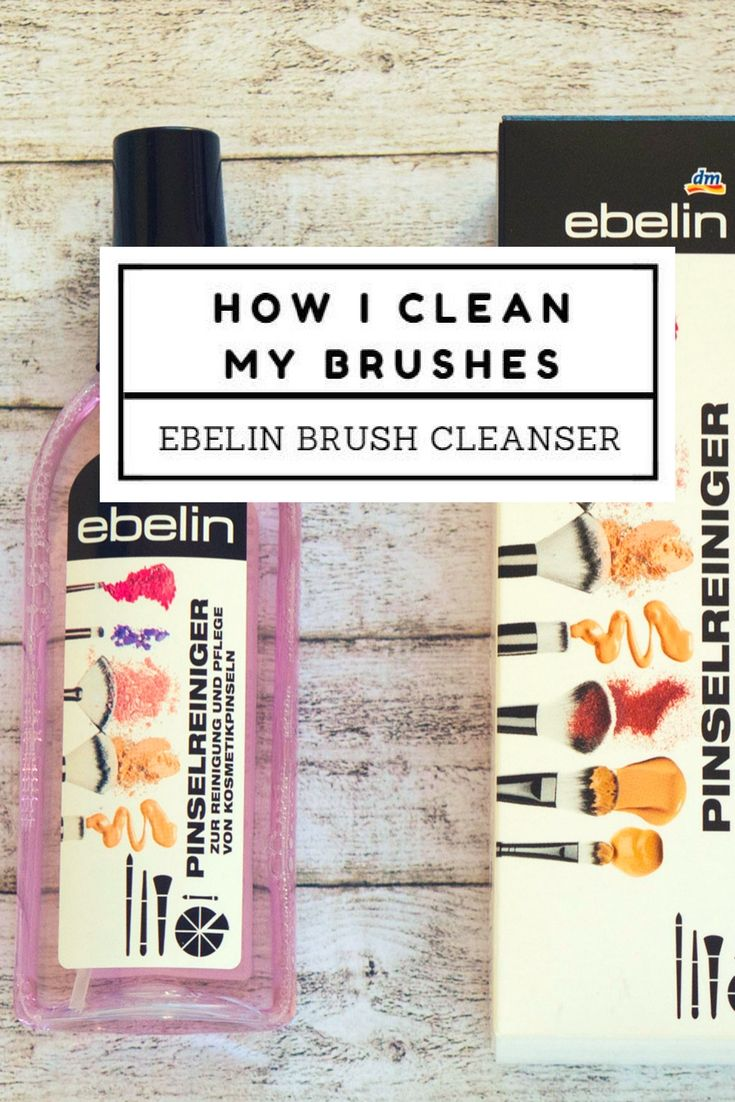 I know, cleaning your brushes is not the most pleasant part of this whole make-up thing. But it's such an important step, and you definitely shouldn't skip it. That's exactly why I love this brush cleanser, because it makes my job a lot easier.
