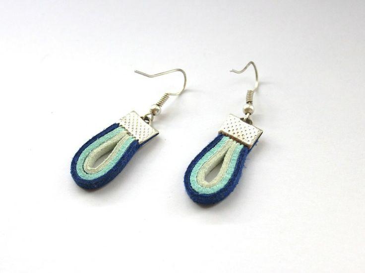 Kolczyki Etno w Especially for You! na http://pl.dawanda.com/shop/slicznieilirycznie  #kolczyki #earrings  #handmade #DaWanda #straps #rzemienie