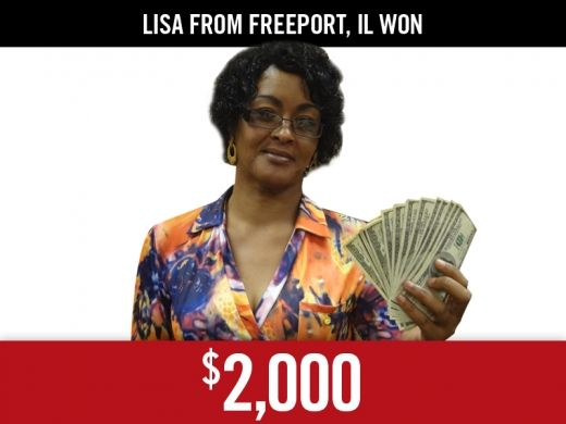 Diamond Jo Dubuque - Lisa | Double $ | Casino Winner DiamondJoDubuque.com