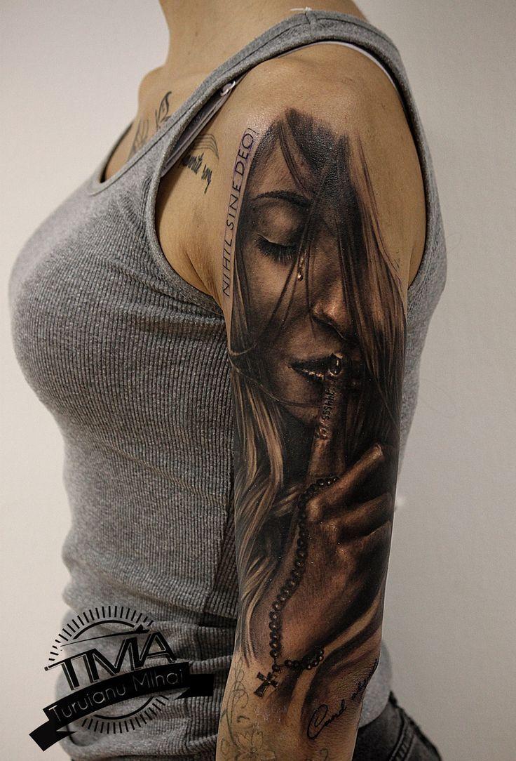 Woman tattoo / tatuaj femeie