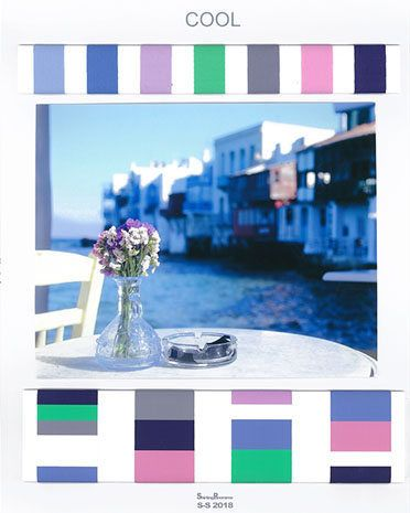 Trends : Each season we present 4 colour concepts for shirting with their palette and Pantone®TCX references, evocative images, colour harmonies and exclusive fabric designs studied for the trend. (#758062)