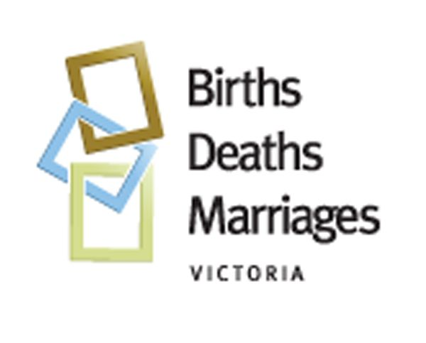 Births death and marriage