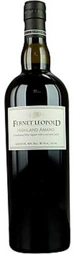 Fernet Leopold Highland Amaro - full bottle shot