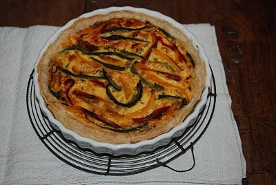 In de keuken: hartige taart en pizza - vegetarian food | Pinterest ...
