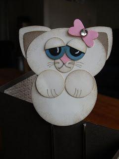cat punch art - bjl