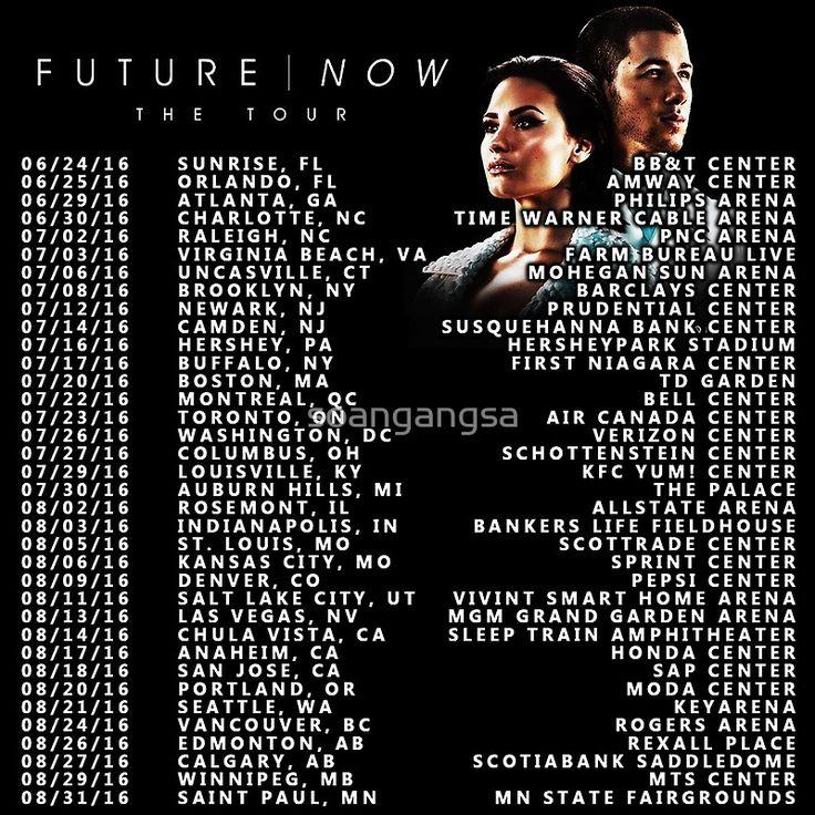 Demi lovato tour dates