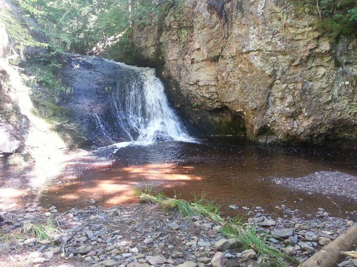 Pete Brook Falls near Hoyt, NB