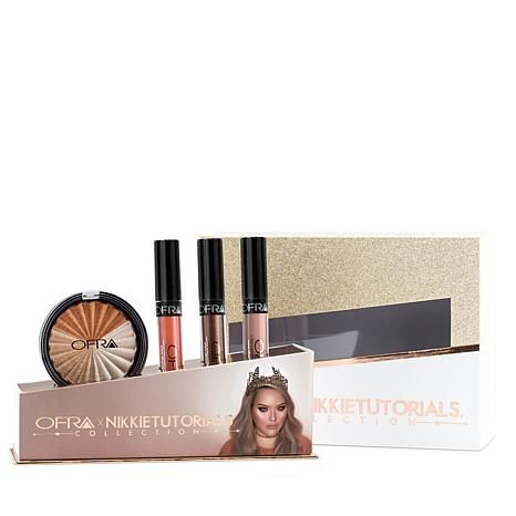 Shop OFRA Cosmetics NikkieTutorials Highlighter & Liquid Lipstick Trio 8496154, read customer reviews and more at HSN.com.