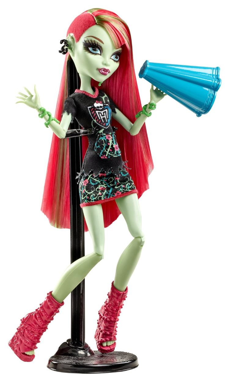 1000 images about ghoul spirit fearleading on pinterest - Monster high venus ...