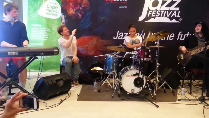 Carla Williams (11years old) jamming with Dirty Loops