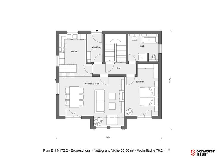 25 best grundrisse images on pinterest floor plans for Haus mit plan