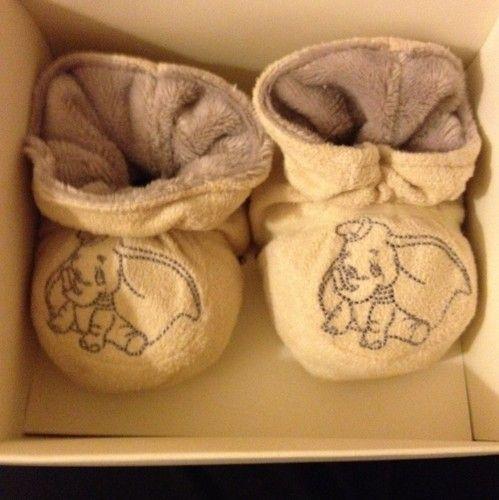 Dumbo Baby Booties - OMG I need these!