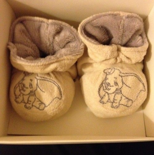 Dumbo Baby Booties - OMG I need these!