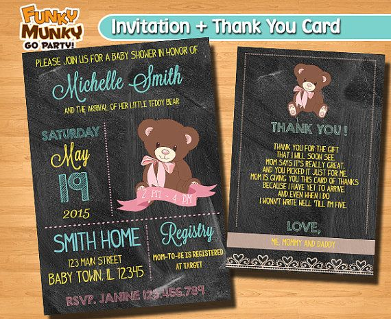 Baby Shower for Baby Girl Pink  Digital by funkymunkygoparty