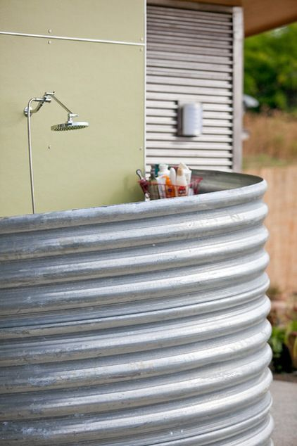 Add a summery outdoor feature. An outdoor shower, pizza oven, fire pit, movie screen ... any or all of these can transform your outdoor space. And the beauty is, most of these projects can be completed on a variety of budgets.