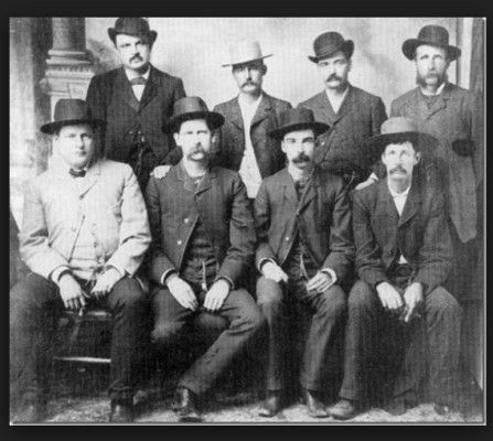 """Clanton Gang (They called themselves """"The Cowboys"""")"""