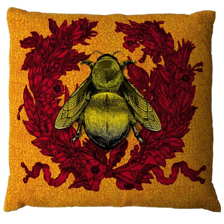 Check Out The Deal On Empire Bee Cushion At Eco First Art