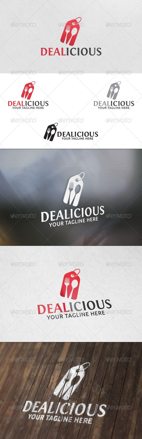 Dealicious - Logo Template