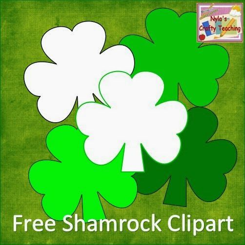 To help you get ready for St. Patrick's Day, here is a set of Free Shamrock Clipart.