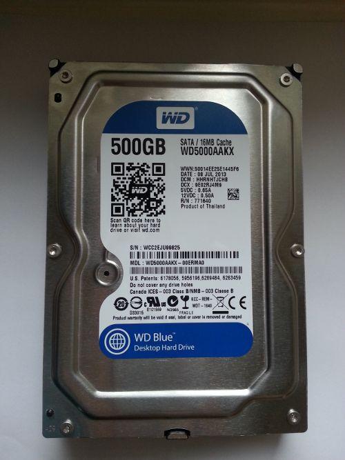 Test performansi WD Blue hard diska