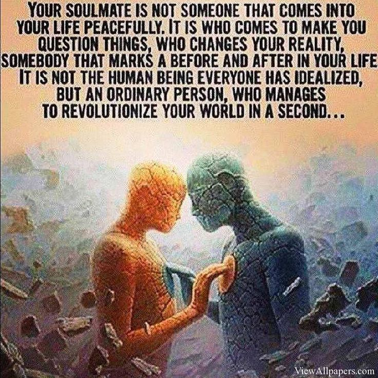 Soulmate And Love Quotes: Famous Quotes About Soulmates. QuotesGram