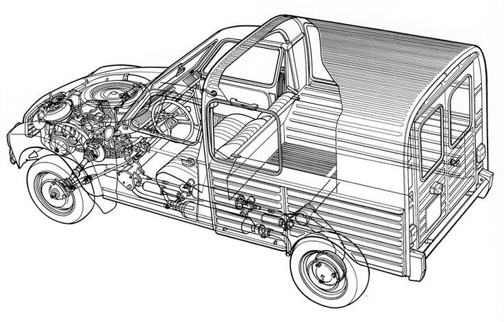 Citroën 2CV Fourgonnette 1951