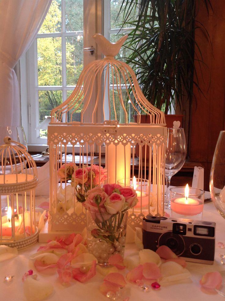 Hochzeitsdeko Vogelkäfig groß - Verleih durch Princess Dreams in Berlin. Ideal für die Vintage Hochzeitsdekoration. #hochzeitsdeko #vintage #princessdreams #verleih #käfig