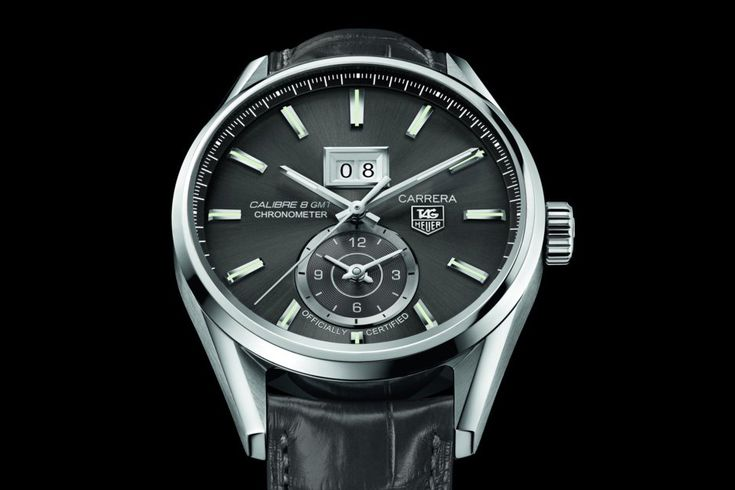 50 Years Of Carrera: The Calibre 8 Grand Date GMT - Watch Marvel