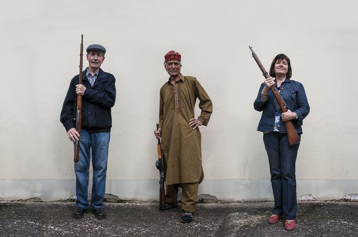 Rahman Hak Hagir - THE NEXT CIVIL WAR | The Tailor, The Doctor, The Secretary, 2013 || Photographer: Rahman Hak Hagir