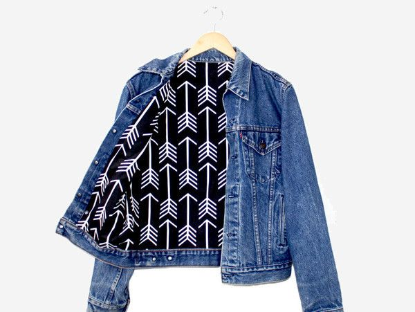 One of a kind vintage denim jacket. Care Instructions: Hand wash, hang to dry Item shows typical signs of wear which may include minor rips and distress, authenticating its age and vintage trademark.