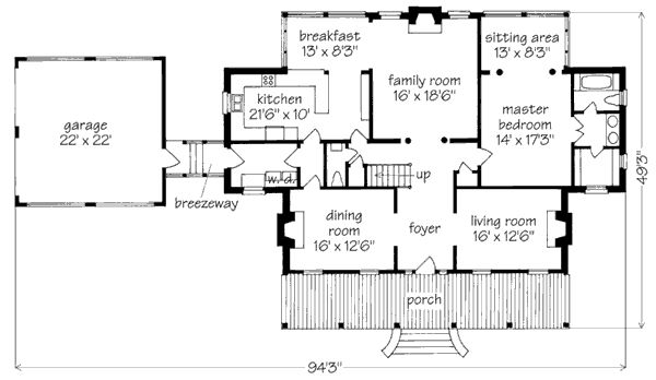 Federal creole house house plans pinterest mice for Creole cottage floor plan
