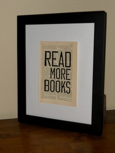 Read More Books Print on Book Page