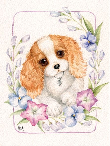 puppy- Inga Izmaylova