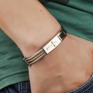 Cross Bracelet Stainless Steel