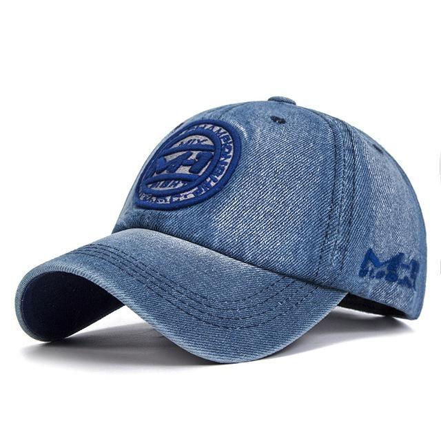 eadbb2e7f Group Jump High Quality Snapback Cap Demin Baseball Cap 5 Color Jean ...