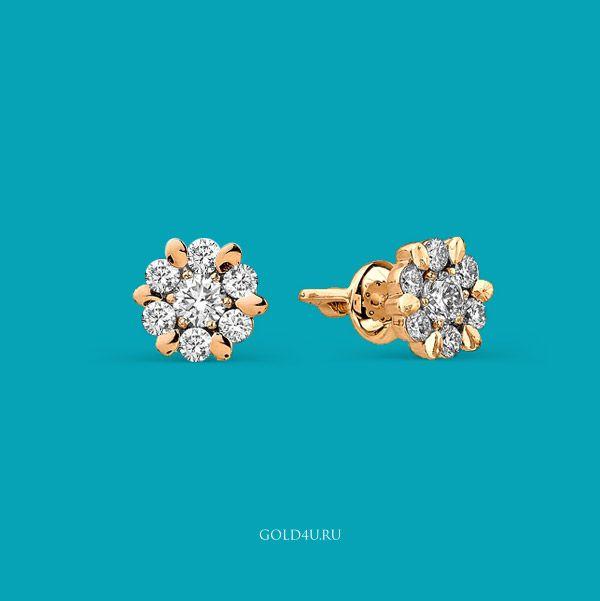 Калейдоскоп из бриллиантов и золота. Серьги-гвоздики это всегда актуальный подарок!  Выбираем серьги-гвоздики здесь http://www.gold4u.ru/sergi-gvozdiki  #GOLD4U #СерьгиГвоздики #8марта #Пуссеты #Эксклюзив  #Earrings #Suds #DiamondsEarrings #Jewelry