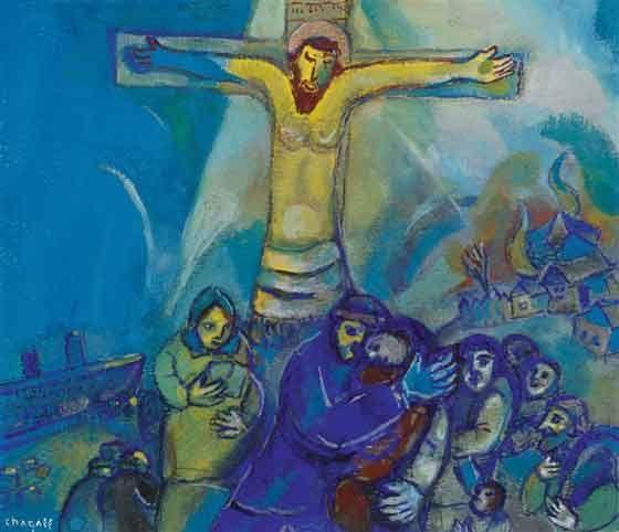 RISULTATO di immagine per Chagall Dedicata a Cristo