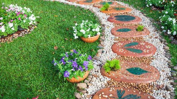 Ideas Para Decorar Patios Con Poco Dinero Setos De Jardin Decorar Jardin Con Piedras Y Como Hacer Jardines