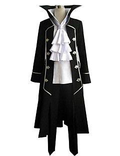 traje de cosplay inspirado por pandora hearts cuervo Nightray gilbert