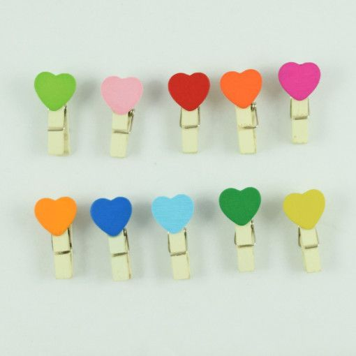 The Color of your Heart Paper Clips #DecoClips
